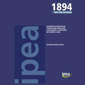 Governos estaduais no federalismo brasileiro: capacidades e limitações no cenárioatual