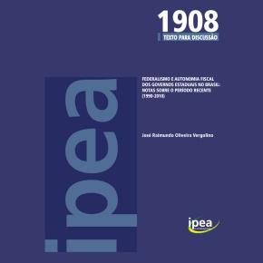 Federalismo e autonomia fiscal dos governos estaduais no brasil: notas sobre o período recente(1990-2010)