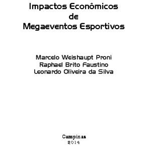 Impactos econômicos de megaeventosesportivos