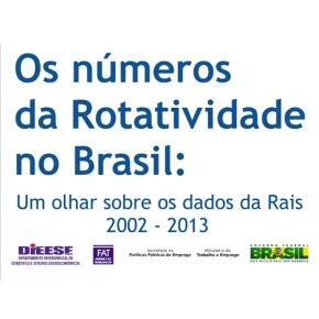 Os números da rotatividades no Brasil: um olhar sobre os dados daRAIS